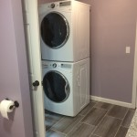 washer/dryer converted to stackable