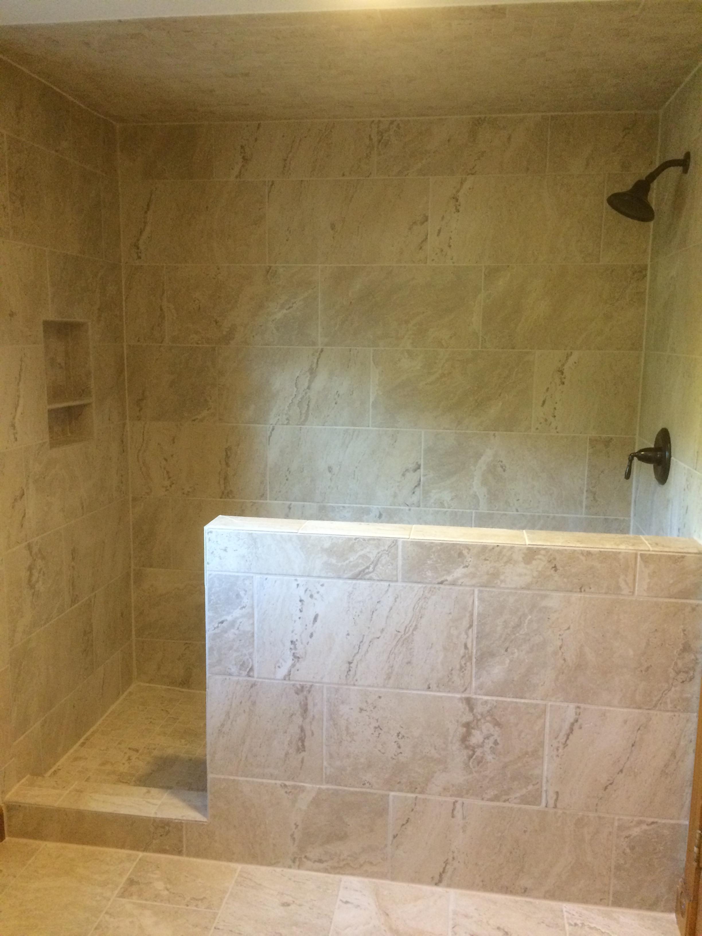 Custom Bathroom Tile : Custom tile shower nh bath builders