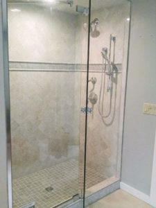 Concord NH Tile Shower