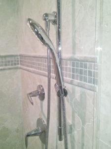 Concord NH Tile Shower Glass Door