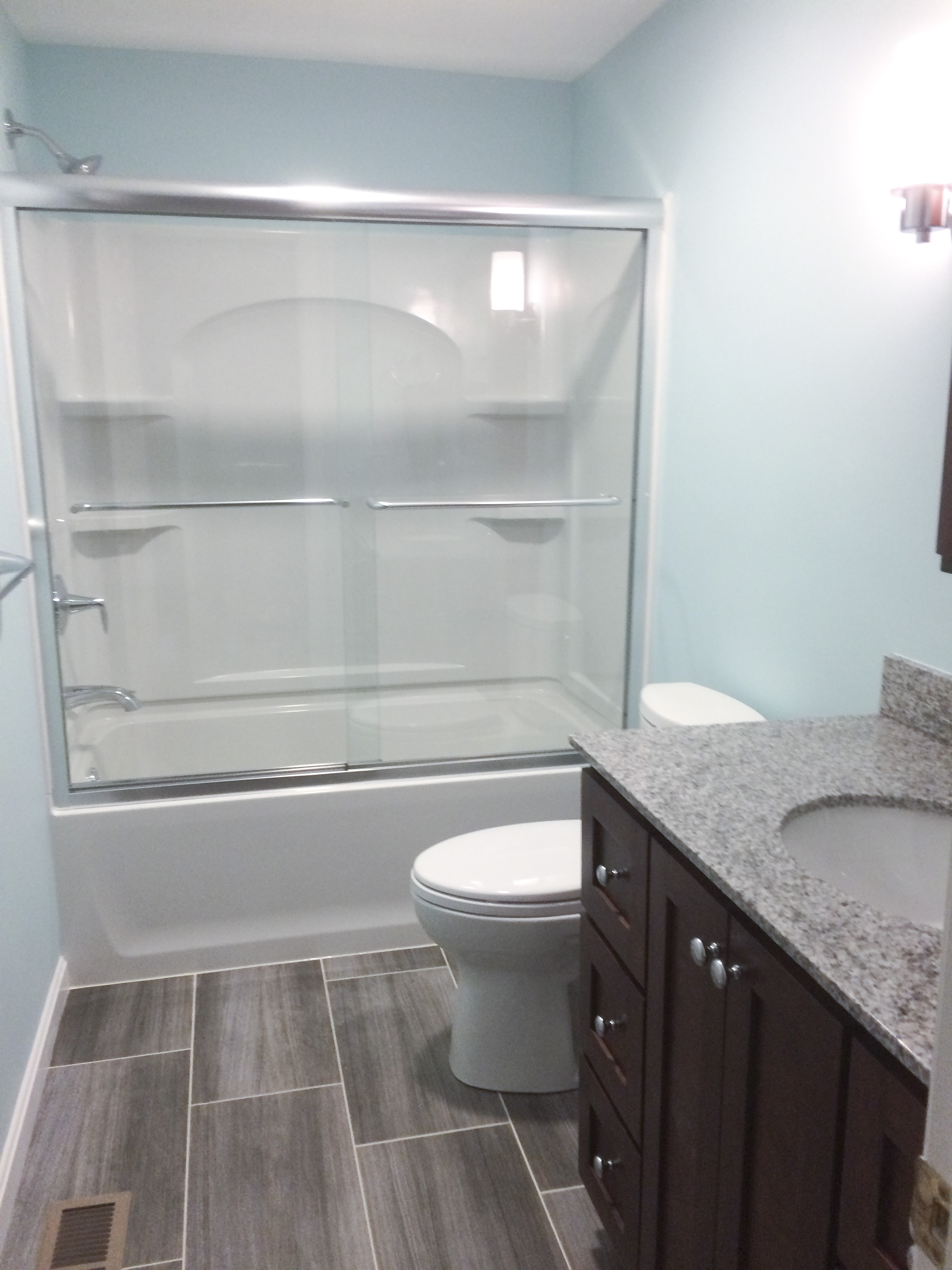 Custom Bathroom Vanities Nh recent bathroom remodels | nh bath builders