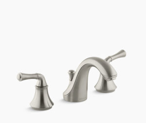 Kohler Forte Wide Spread in Brushed Nickel (additional $80)