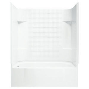 Sterling Accord Tub/Shower with Tile Pattern