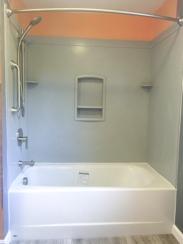 Recent Bathroom Remodels | NH Bath Builders