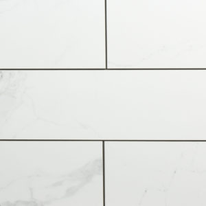 "4"" x 12"" Anatolia Mayfair Polished Carrara Style Porcelain"