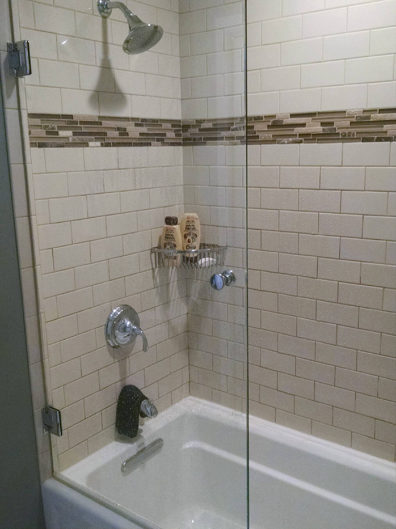 White Subway Tile- Shower Package | NH Bath Builders